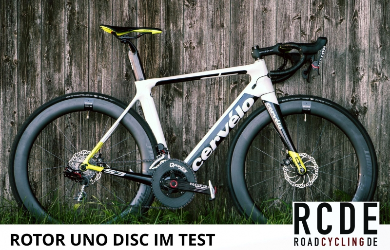 ROTOR UNO Disc im Test bei Roadcycling.de