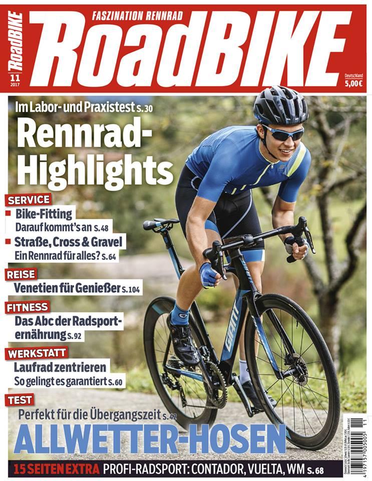 Roadbike 11/2017 über die ROTOR ALDHU 3D+