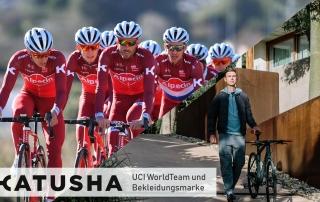 KATUSHA - UCI WorldTeam und Bekleidungsmarke