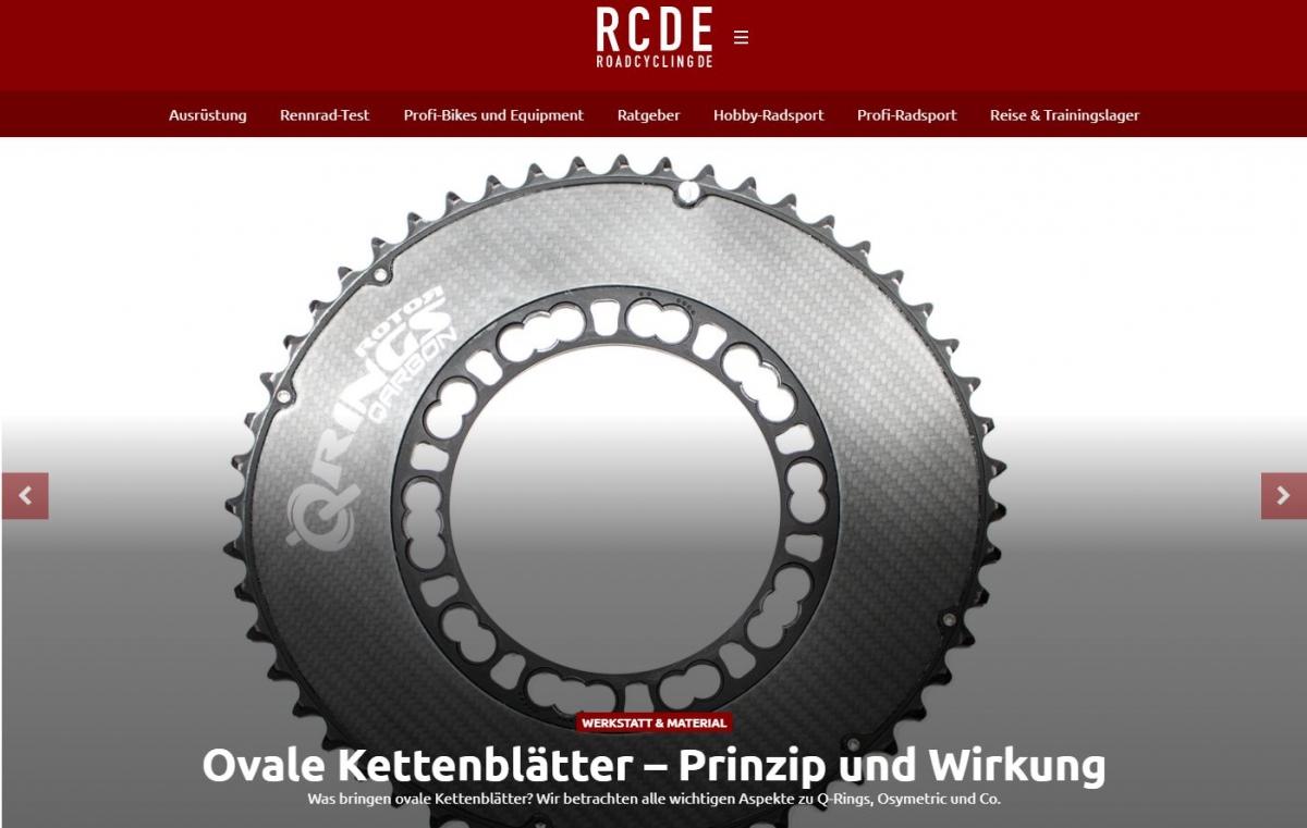 RCDE testet Ovale Kettenblätter