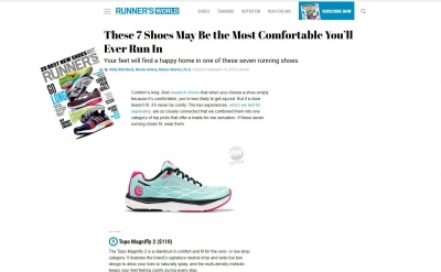 Runners World - Topo Magnifly 2 Test