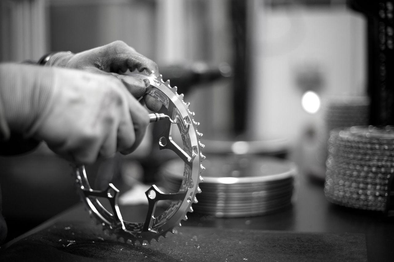ROTOR Kettenblätter - Herstellung