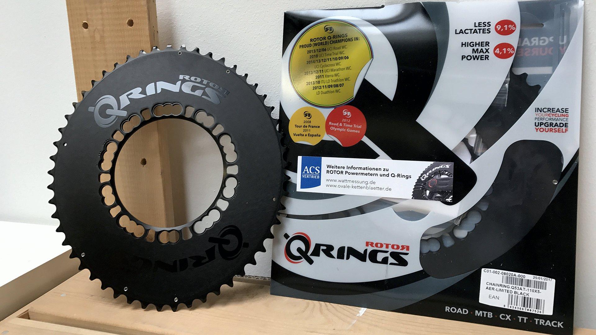 Rotor Q-Rings Black Edition