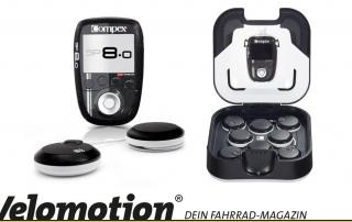 Review des Compex SP8.0 in der Velomotion - für Radsportler