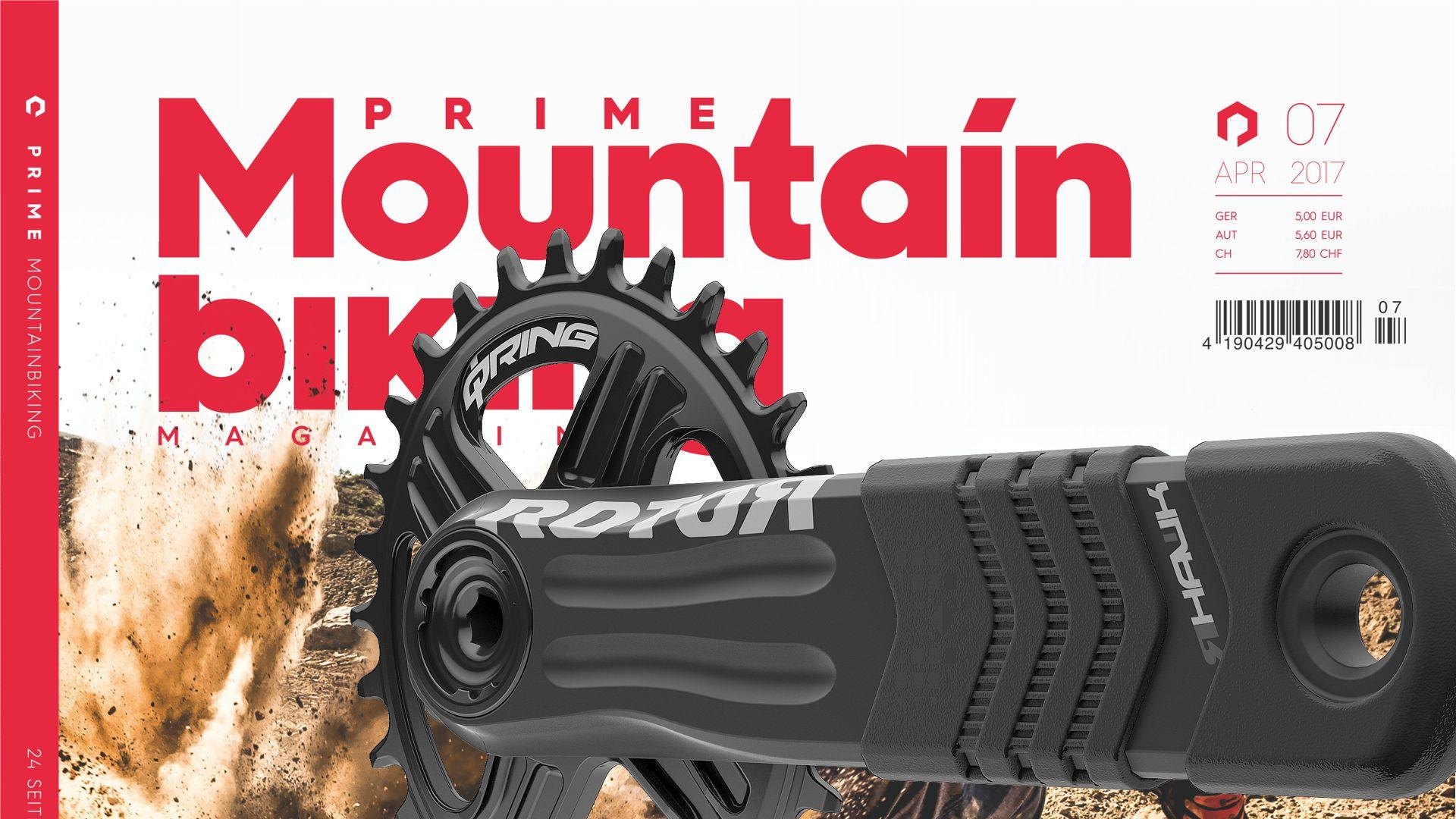 Prime Moubntainbiking - ROTOR Enduro und Gravity-Kurbeln