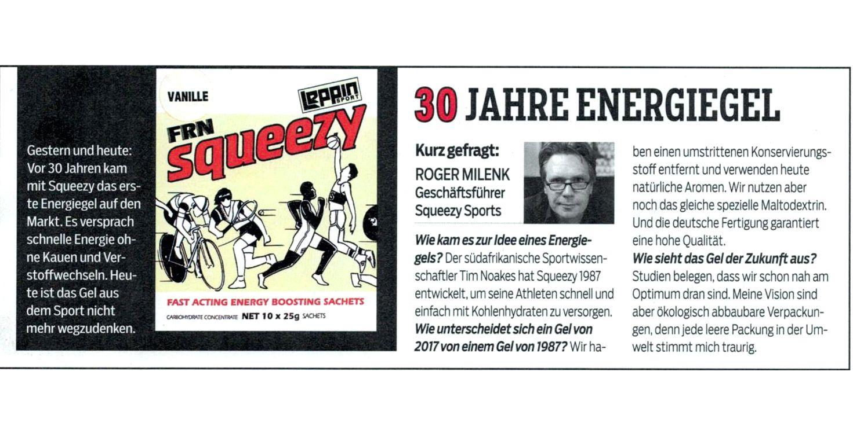 30 Jahre Energiegel - Squeezy