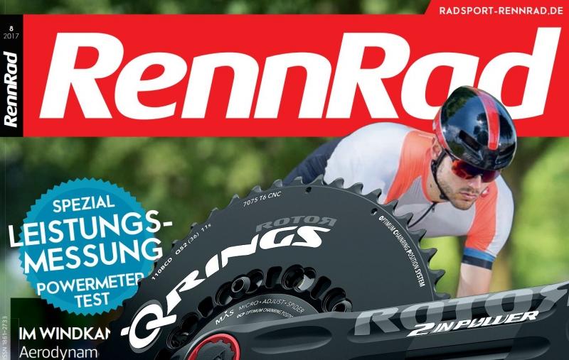 RennRad Magazin - Rotor 2Inpower Test