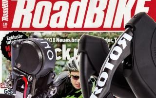 ROTOR UNO - Test der Roadbike - Ausgabe 10/2017