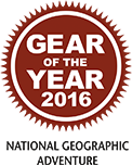 National Geographic Adventure - Gear of the year 2016