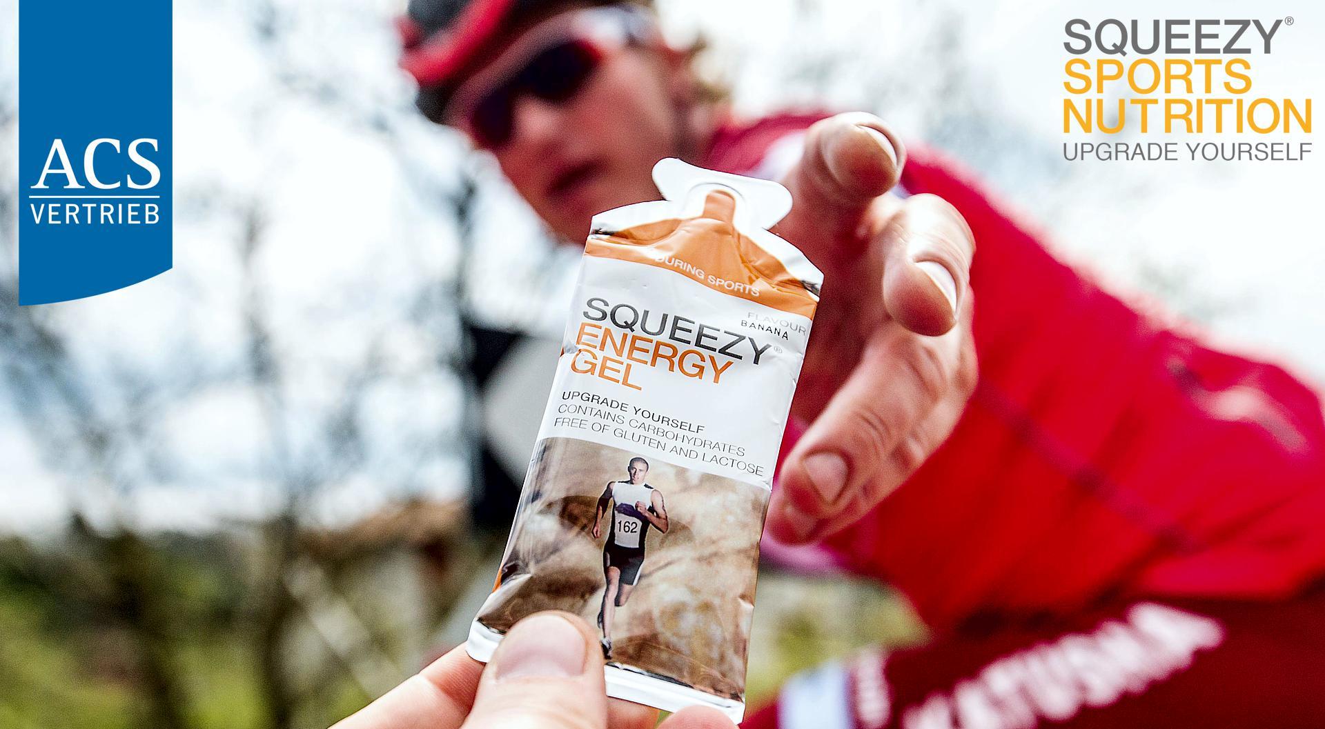 Sponsoring für Athleten - Unsere Marken: Rotor Bike Components, Squeezy Sports Nutrition, Compex, Katusha, Astute, Topo Athletics
