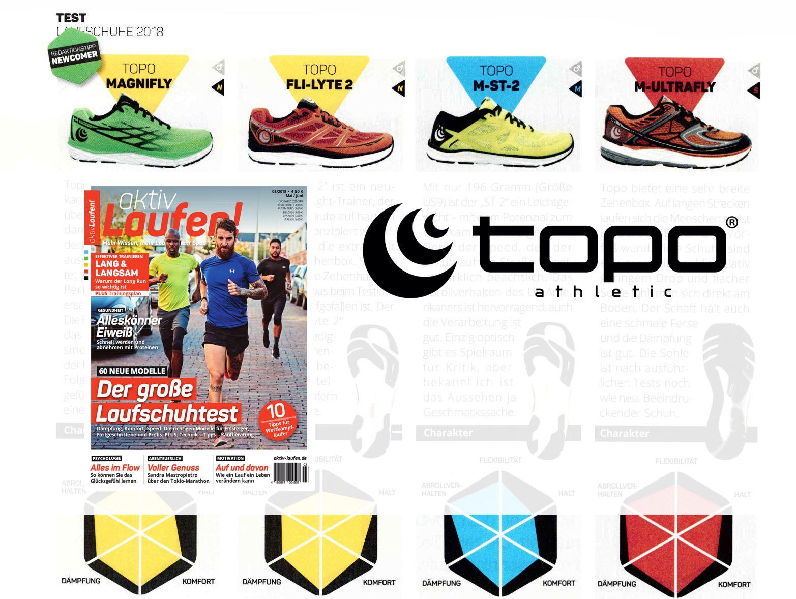 TOPO Laufschuhe im Test der AktivLaufen!