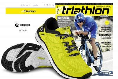 Triathlon Magazin testet Topo ST-2