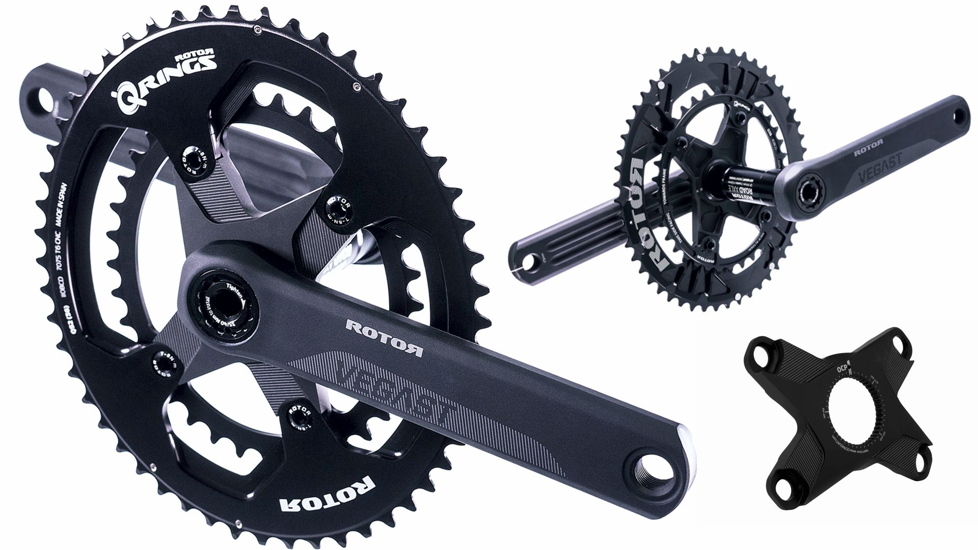 Rotor Vegast mit optionalem Spider (110x4)