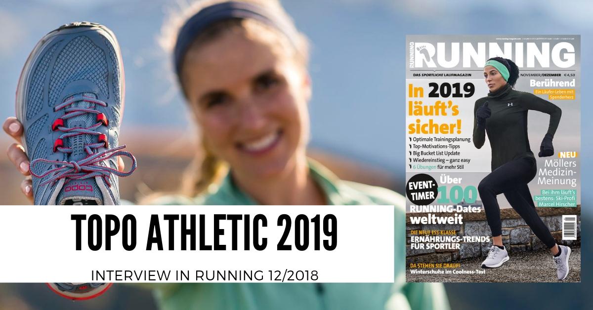 topo - running magazin 12/2018