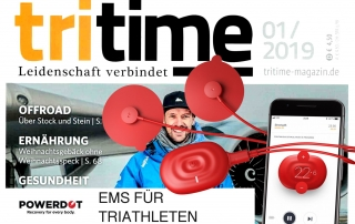 Powerdot in der Tritime - Triathlon