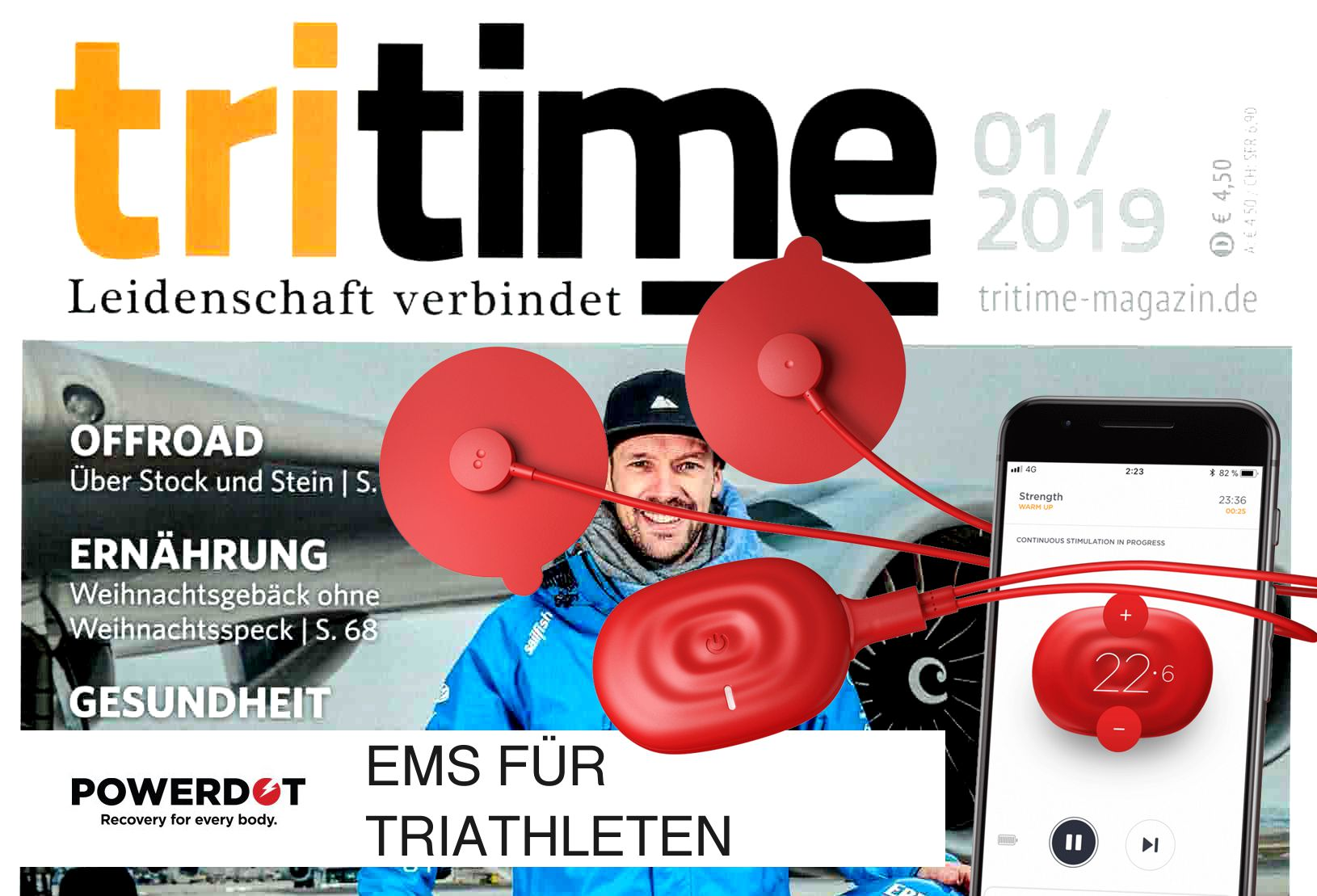 Powerdot in der Tritime - Triathlon