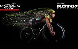 Team Vorarlberg Santic Teambnikes 2019 - ROTOR Powermeter 2INpower DM Road