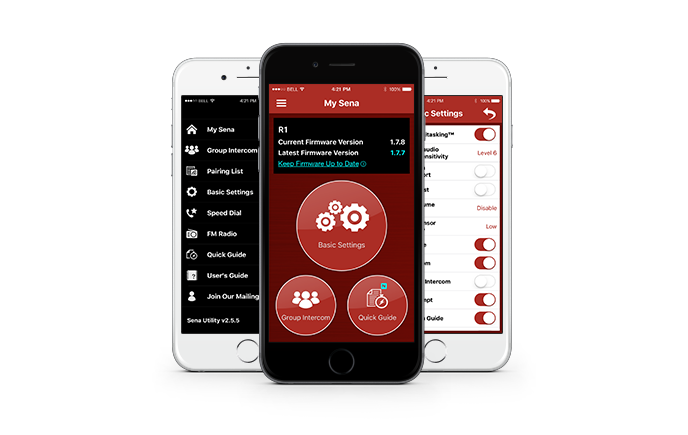 SENA R1 App