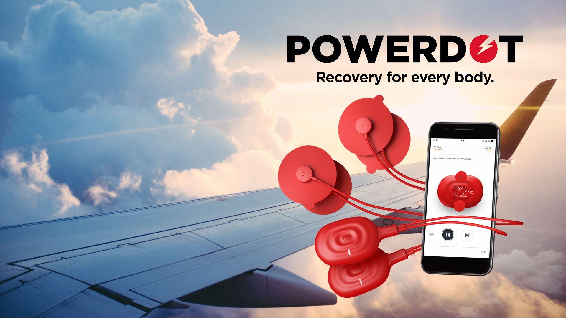 Powerdot Langstreckenflugprogramm - Entspannung