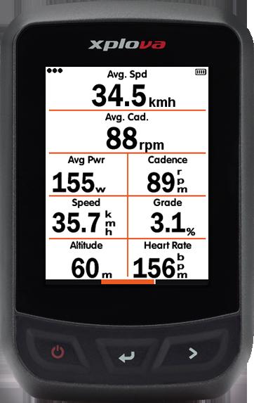 Xplova X3 GPS-Radcomputer