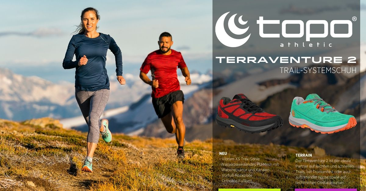 Topo Terraventure Test in Trail Magazin 3/2020