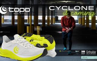 Topo Cyclone (M) White/Lime
